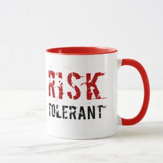 Riesgo tolerante - taza