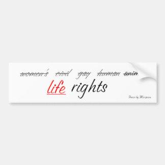 rights1, artículos por Mariposa Pegatina Para Coche