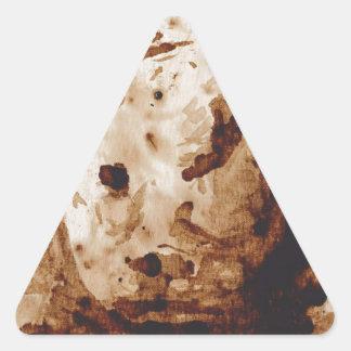 Rinoceronte de Java Pegatinas Trianguladas Personalizadas