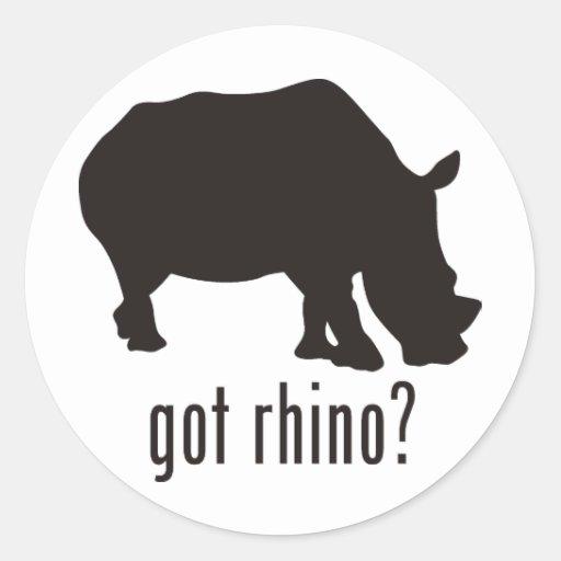 Rinoceronte Etiquetas