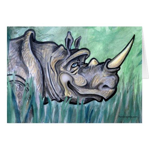 Rinoceronte Tarjetas