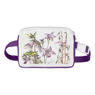 Riñonera El Bellflower botánico florece el paquete de Fanny