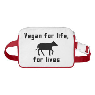 Riñonera Vegano para la vida