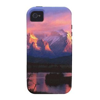 Río Chile de Park Torres Del Paine Serrano Vibe iPhone 4 Carcasas