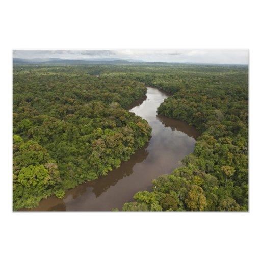 Río de Essequibo, el río más largo en Guyana, y 4 Impresiones Fotograficas
