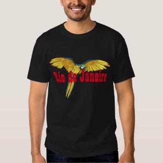 Río de Janeiro con el loro Camisetas