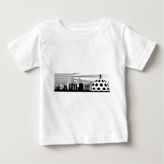 Río de Janeiro con el sol de la bola Camiseta Para Bebé