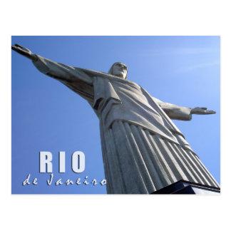 Río de Janeiro - Cristo el redentor Postal