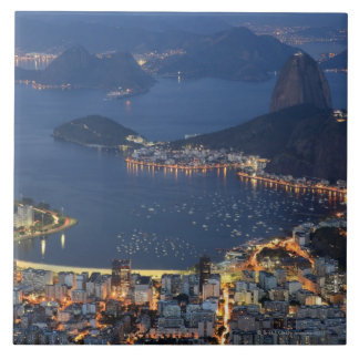 Río de Janeiro, el Brasil Azulejo Cuadrado Grande