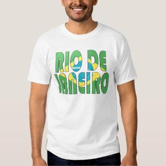 Río de Janeiro, el Brasil Camisas