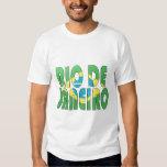 Río de Janeiro, el Brasil Camisetas