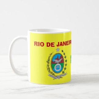 Río de Janeiro * escudo y taza de la bandera