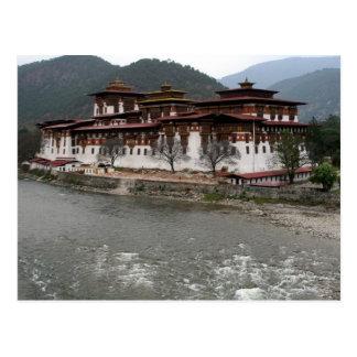 río del dzong del punakha postal
