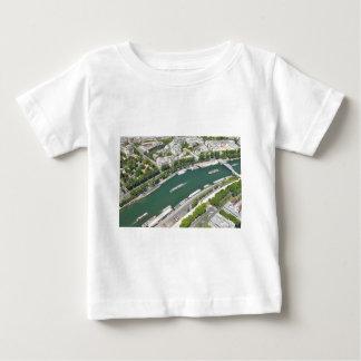 Río el Sena Camiseta De Bebé