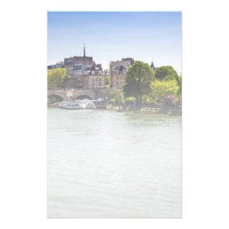 Río el Sena Ile De La Cite en la fotografía de Papeleria De Diseño