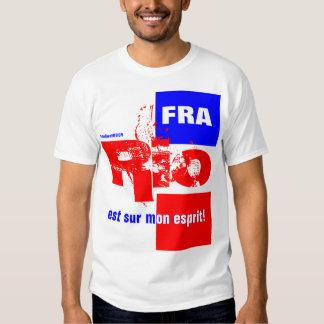 """""""Río Francia """" Camisetas"""