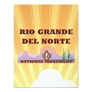 Rio Grande del Norte de ABH Invitación 10,8 X 13,9 Cm