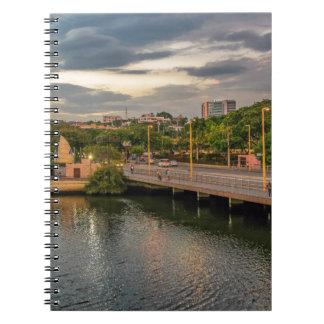 Río Guayaquil Ecuador de Estero Salado Cuaderno