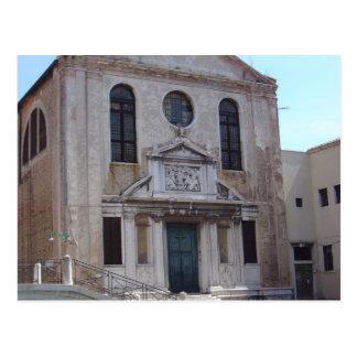 Río San José, Venecia 1 Tarjeta Postal