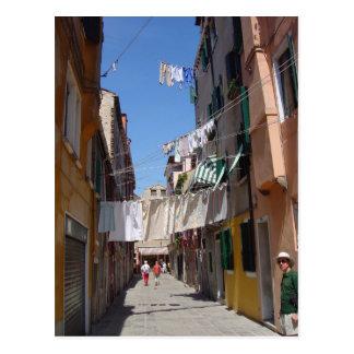 Río San José, Venecia 4 Postal
