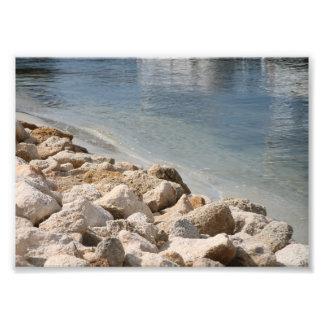 Río y rocas foto