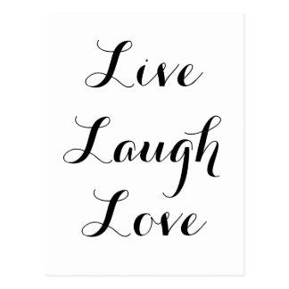 - Risa - amor vivo Postal