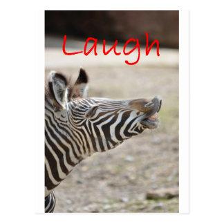 risa de la cebra postal