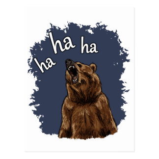 Risa del oso postal