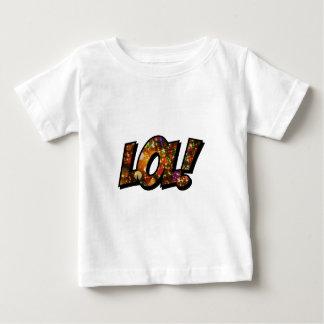 Risa hacia fuera Bokeh ruidoso de LOL Camiseta De Bebé