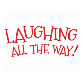 Risa hasta el final postal