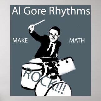 Ritmos de Al Gore Póster