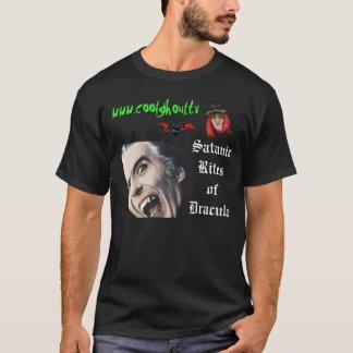 Ritos satánicos del espíritu necrófago fresco de camiseta