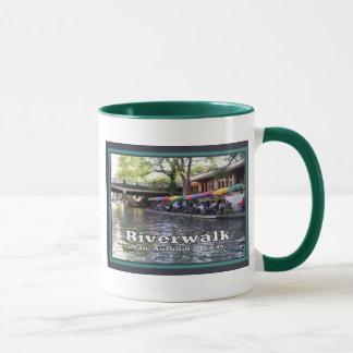 Riverwalk, San Antonio, TEJAS Taza