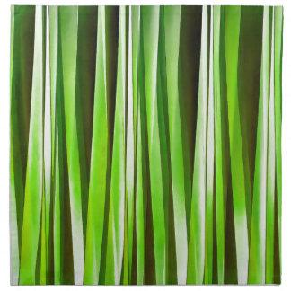 Riverweed verde tropical servilleta de tela