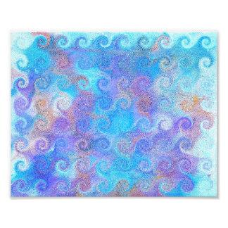 Rizos azules del mar fotografías