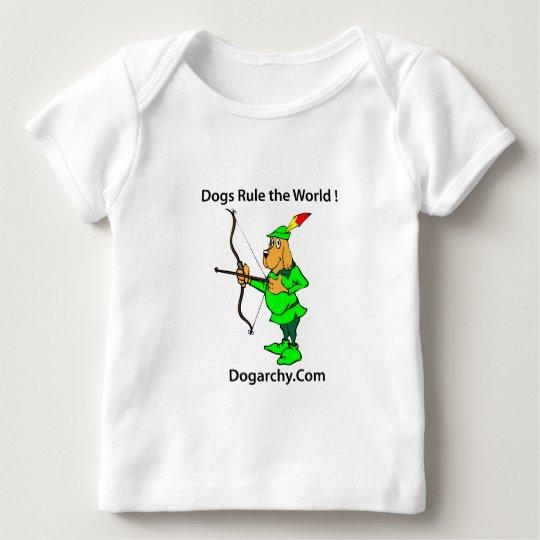 RLO013 Dogarchy Camiseta De Bebé