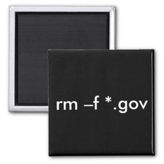 rm - f *.gov --Suprima todos los ficheros del Imán