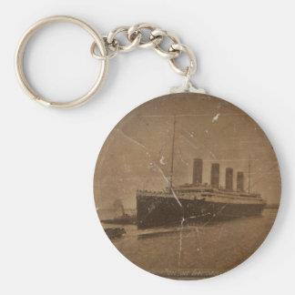 RMS Southhampton titánico Llavero Redondo Tipo Chapa