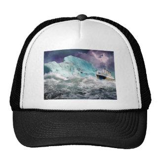 RMS titánico y pintura del iceberg Gorra