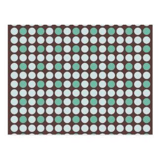 ro del círculo de la textura del extracto del postal