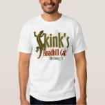 Roadkill Café de Skink Camisetas