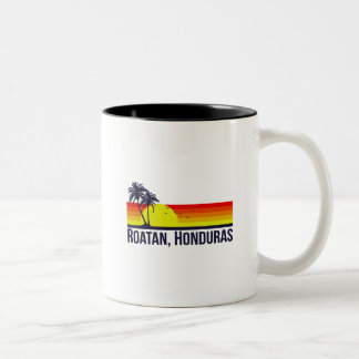 Roatan Honduras Taza Bicolor