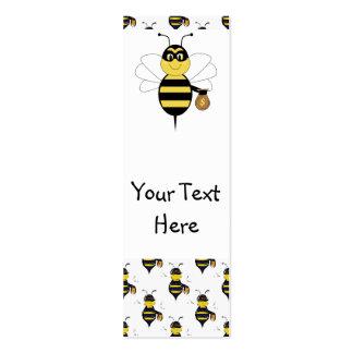 RobBee manosea la señal de la abeja Tarjeta De Visita