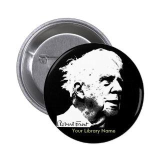 Robert Frost Chapa Redonda 5 Cm