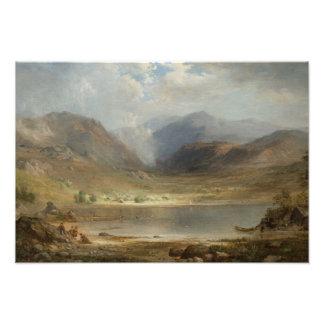 Roberto Scott Duncanson - lago de largo Fotografias
