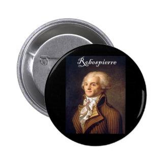 Robespierre 1 con el blackadder chapa redonda de 5 cm