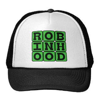 Robin Hood, proscrito heroico del bosque de Gorro De Camionero
