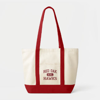 Roble rojo - halcones - joven - roble rojo Tejas Bolsa Tela Impulso