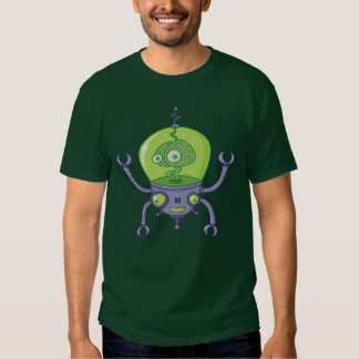 Robot de Brainbot con el cerebro Camisas