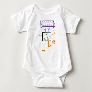 Robot del fútbol body para bebé